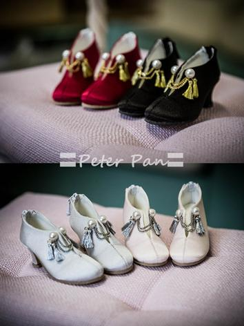 1/4 Shoes Light pink/Silver...