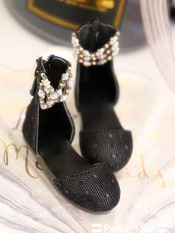 1/4 Shoes White/Black/ Flat...