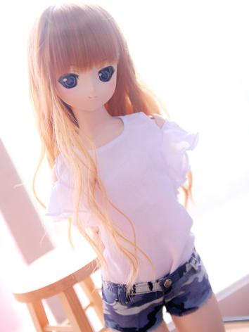 BJD Clothes Girl Green/Whit...