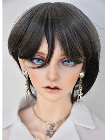 BJD Wig Boy/Girl Grey Wig for YOSD/MSD/SD Size Ball-jointed Doll