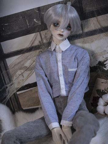 BJD Clothes Boy Blue Shirt For 68cm/70cm/72cm  Ball-jointed Doll