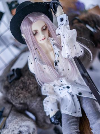BJD Clothes Girl White/Blac...
