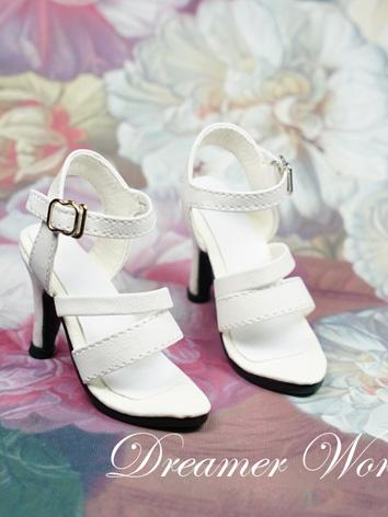 1/3 Girl Shoes White/Black ...