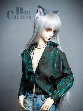 BJD Clothes Boy Green/Blue ...