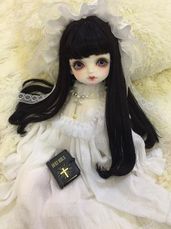 BJD Clothes Girl White Dress for SD/MSD/YOSD Size Ball-jointed Doll