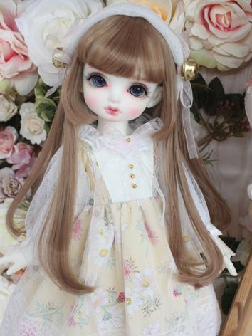 BJD Clothes Girl White&Yell...