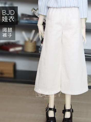 BJD Clothes Girl White Trou...