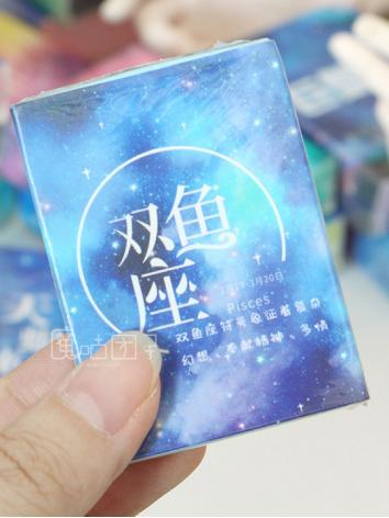 BJD Background/Scenery/Backdrop Photography Blue Small Constellation book for Ball-jointed Doll