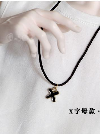 BJD Cross/letter Shape Necklace for 70cm/SD Ball-jointed doll