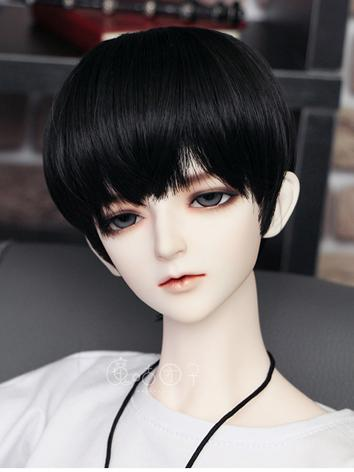 BJD Wig Boy Brown/Silver/Black/Gold/Green Short Hair for SD Size Ball-jointed Doll