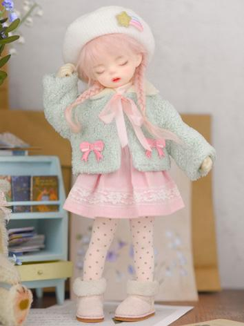 Bjd Clothes  Green and Pink...