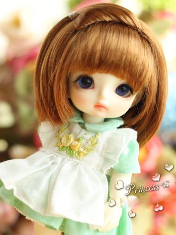 1/8 Wig Girl  Brown Hair fo...
