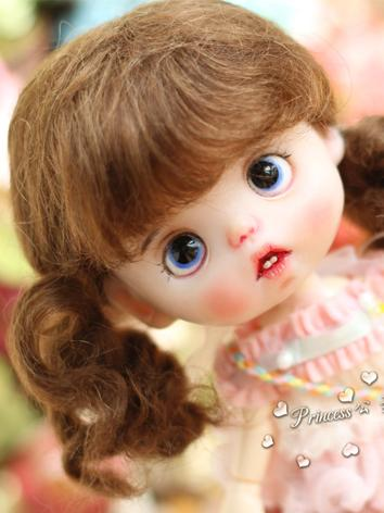 1/8 Wig Girl Brown Hair for...