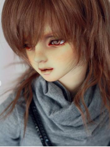 BJD Wig Boy Gold/Purple/Brown/Black Curly Hair[-NO.396-] for SD/MSD/YOSD Size Ball-jointed Doll