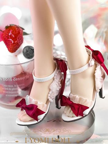 Bjd Girl/Female Blue/Pink/Purple/White/Red/Yellow/Black High-heel Shoes for SD/DD Ball-jointed Doll