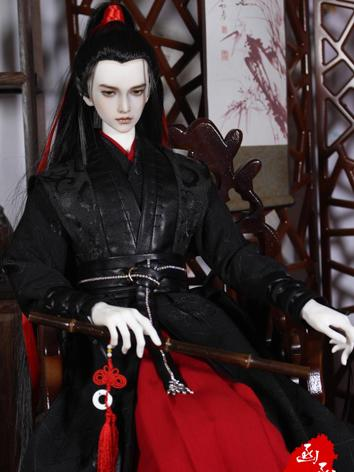 BJD Clothes Boy Ancient Suit for 70cm/73cm size Ball-jointed Doll