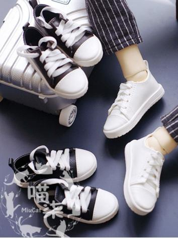 1/3 1/4 Shoes Male White/Brown/Black Leisure Shoes for SD/MSD/70cm Size Ball-jointed Doll