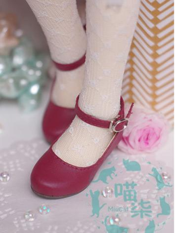 1/6 1/4 Shoes Girl Shoes for YSD/MSD Size Ball-jointed Doll