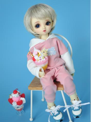 BJD Clothes Blue/Pink Sports Suit for YOSD size Ball-jointed Doll