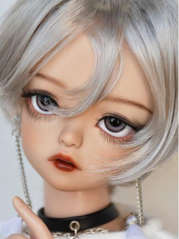 BJD Boy Wig Brown/Silver/Black Short Hair Wig for SD/MSD/YOSD Size Ball-jointed Doll