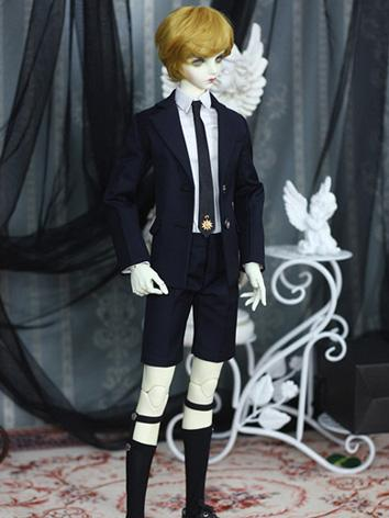 Bjd Clothes Boy Dark Black ...