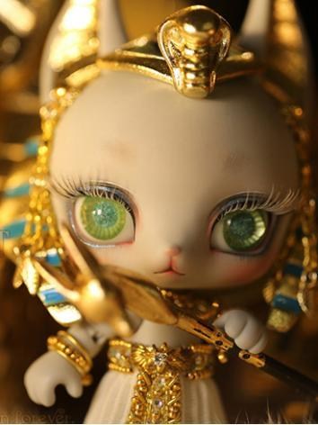 One Sets In Stock 12cm Pet Anubis Grey Skin Ball Jointed Doll