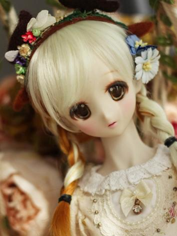 BJD Wig Boy/Girl Light Gold...