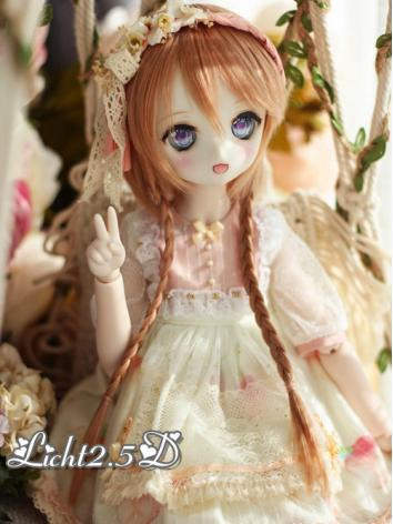 BJD Wig Boy/Girl Brown Hair...