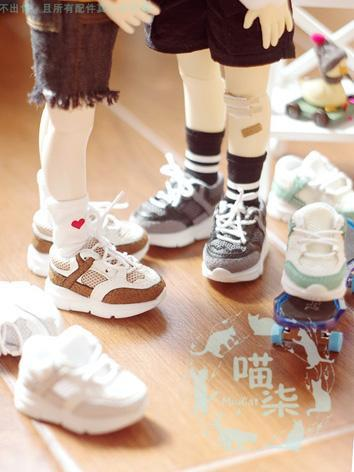 1/6 1/4 Shoes Girl Sport Shoes for YSD/MSD Size Ball-jointed Doll