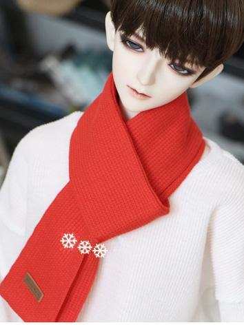BJD Boy/Girl Red Scarf for ...