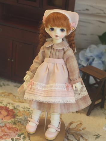 BJD Clothes Girl Western Dr...