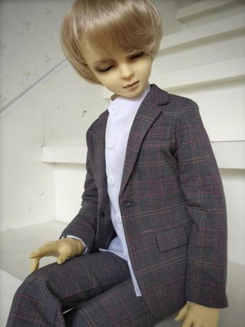BJD Clothes Boy Slim Busine...