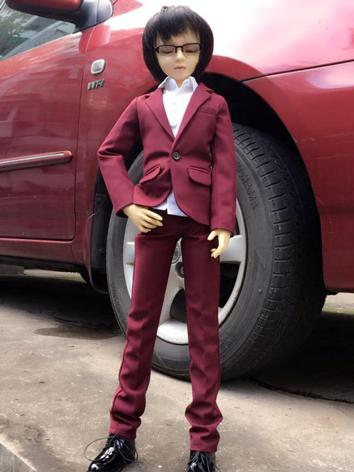 BJD Clothes Boy Wine Busine...