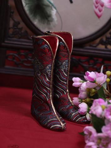 BJD 70+ riding boots SH119112 for 74CM(ZhouShijian) Size Ball-jointed Doll