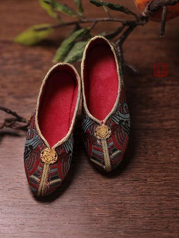 BJD Male Ancient Shoes SH31...