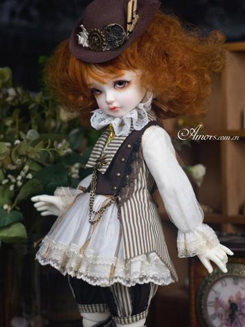 BJD Clothes Girl Western Style Dress for MSD/YOSD Ball-jointed Doll