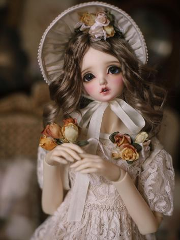 1/3 1/4 Clothes BJD Girl Wh...