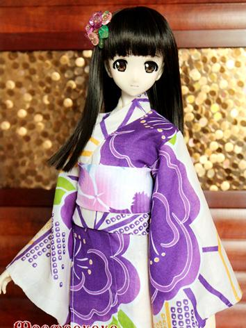 BJD Clothes Girl Purple Pri...