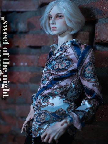 BJD Clothes Boy Printed Set [Cashew nuts] for SD17/70CM/SOOM ID72 size Ball-jointed Doll