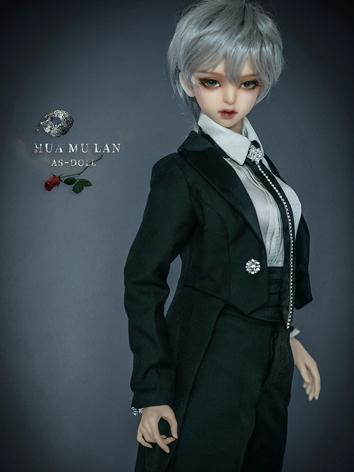 BJD Clothes Black Female Sw...