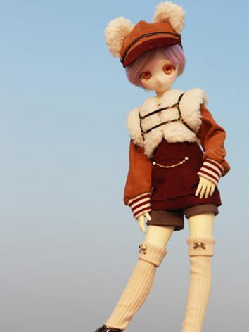 BJD Clothes Girl Coat Short...