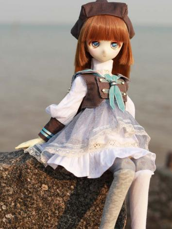 BJD Clothes Girl Lovely Dress for MSD Ball-jointed Doll
