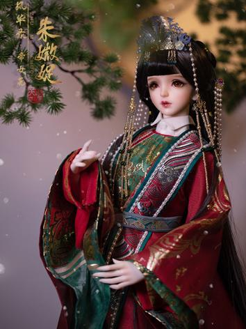 BJD Clothes 1/3 Princess Changping Red Wedding dress  CL3190612 for SD size Ball-jointed Doll