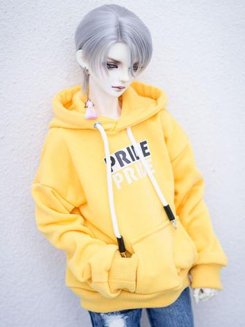 BJD Clothes Boy White/Yello...