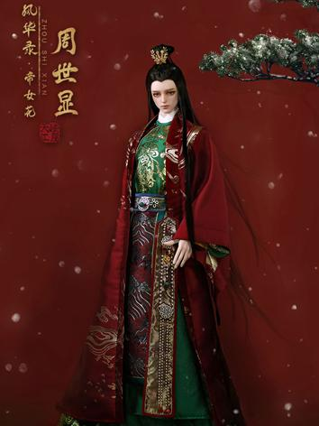Bjd Clothes 74cm Zhou shixian red bridegroom dress CL1190613 for 70cm+ Ball-jointed Doll