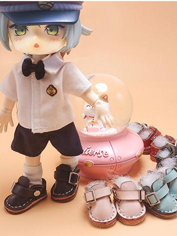 BJD 1/12 Male/Female Pink/Black/Red/Brown Shoes for 1/12 size Ball-jointed Doll