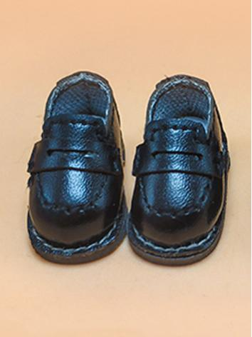 BJD 1/12 Male/Female Black/Brown Shoes for 1/12 size Ball-jointed Doll