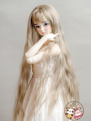 BJD Wig Boy/Girl Purple/Gol...