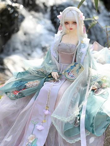 BJD Clothes 1/3 Ancient HuaRong dress CL3190222 for SD size Ball-jointed Doll
