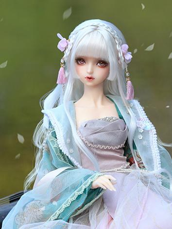 BJD 1/3 ancient wig style of Princess Huarong WG319042 for SD Size Ball-jointed Doll